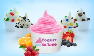 Yogurt In Love: $11 for Four Groupons, Each Good for $5 Worth of Frozen Yogurt at Yogurt in Love ($20 Value)