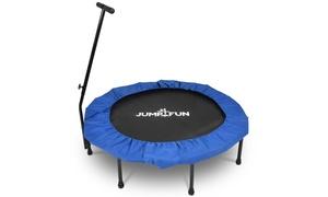 Mini trampoline fitness pliable