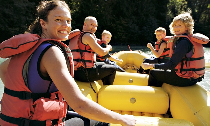 Urban Currents - Northeast Cobb: Full- or Half-Day Unguided Rafting Trip for Four or Six at Urban Currents (Up to 56% Off)