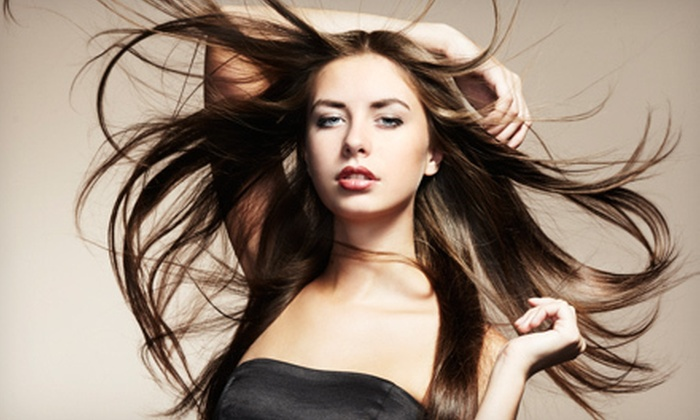 M Studio - Bethesda: Two or Four Blowouts, or One or Two Brazilian Keratin Treatments at M Studio (Up to 57% Off)