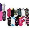 Steve Madden Girls Low-Cut Socks