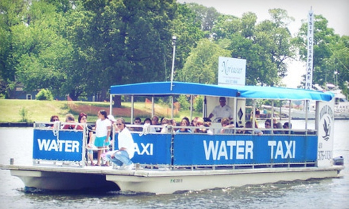 Freeport Water Taxi - Freeport: Sunset Cruise for Two or Four from Freeport Water Taxi & Tours (Up to 54% Off)