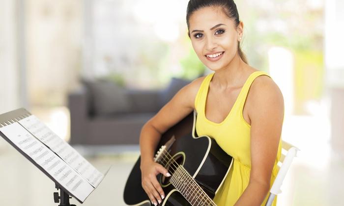 Crossfire Music School - Marrero: A Private Music Lesson from No Drama (44% Off)
