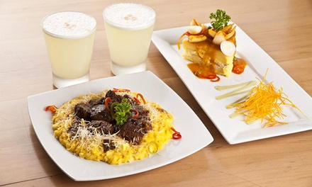 Peruvian Lunch or Dinner for Two or Four at Embarcadero 41 Fusion (Up to 50% Off)