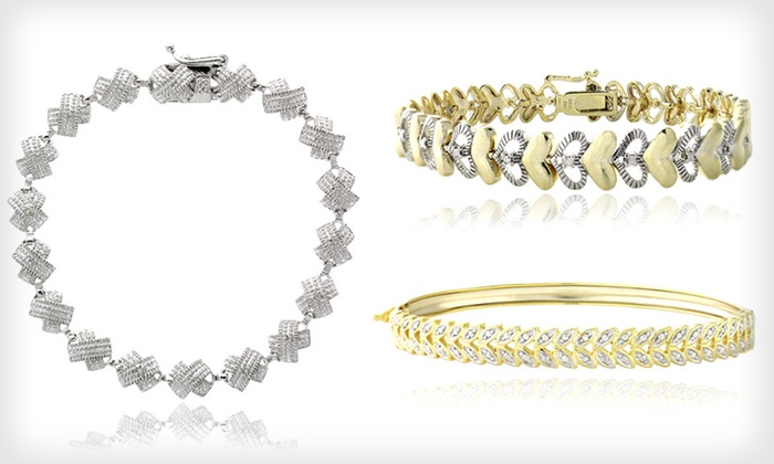 Diamond Bracelets: Diamond Bracelets (Up to 71% Off). 17 Styles Available. Free Shipping and Free Returns.
