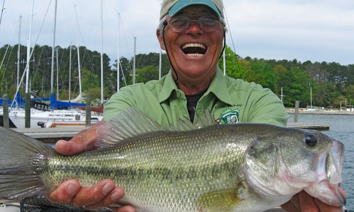 Fishin' With Capt. Gus - Denver: $99 for a Three-Hour Afternoon Fishing Trip on Lake Norman from Fishin' With Capt. Gus ($200 Value)