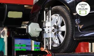 Jajá Auto: Pacote de revisão automotiva com troca de óleo, alinhamento, balanceamento e maisna Jajá Auto – Nossa Senhora Aparecida