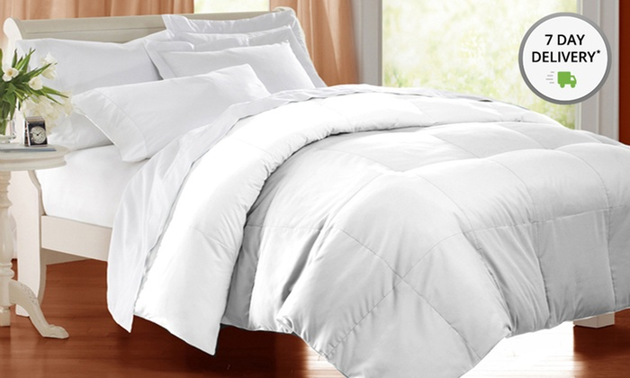 Hotel Peninsula 4-Piece Down Blend Comforter with Duvet Cover Sets: Hotel Peninsula 4-Piece Comforter Sets. Multiple Sizes from $59.99–$79.99. Free Returns.