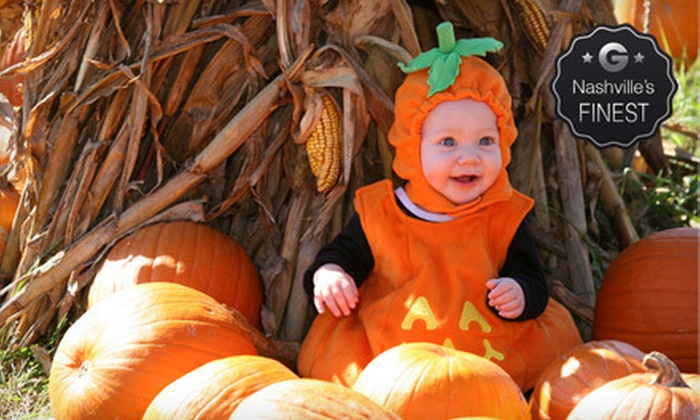 Honeysuckle Hill Farm - Coopertown: $10 for Fall Activities for Two with Corn Maze, Petting Zoo, Hayride, and Pumpkins at Honeysuckle Hill Farm ($20 Value)