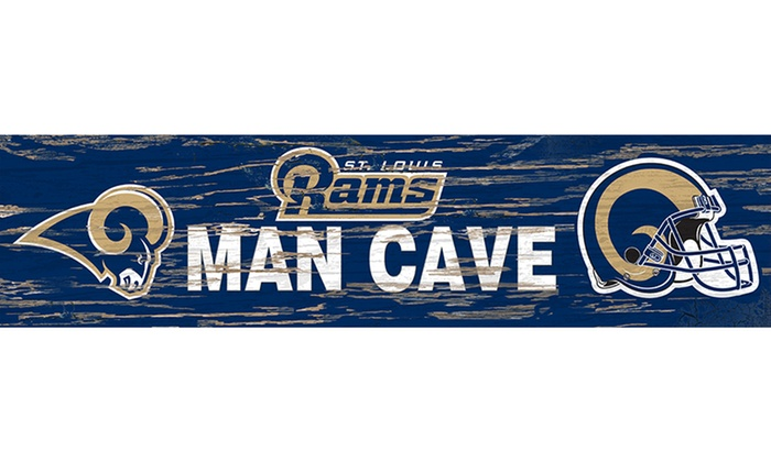 Man Cave Store Coastal Grand Mall : Nfl distressed man cave sign groupon goods