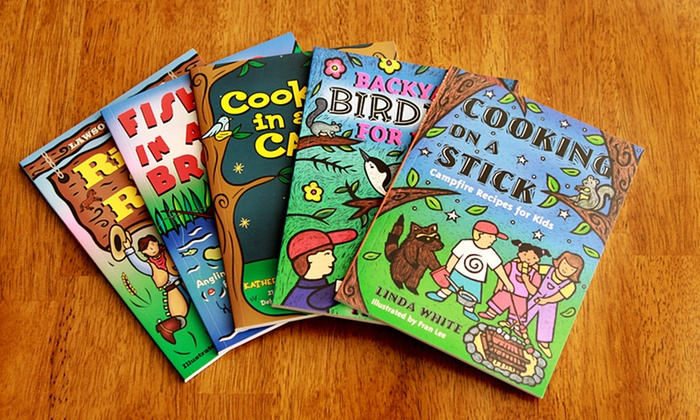 Children's Outdoor Activity and Cooking 5-Book Bundle: Children's Outdoor Activity and Cooking 5-Book Bundle. Free Shipping.
