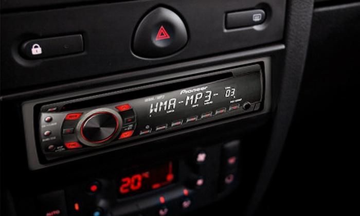 Gold Star Audio - South Main,Villa Valencia: $80 Worth of Mobile Electronics & Sound Gear