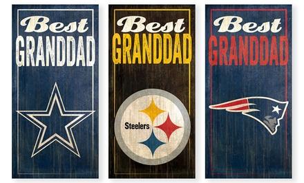 NFL Best Granddad Sign