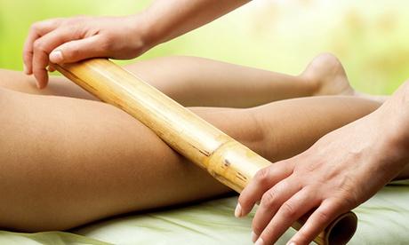 Masaje oriental con cañas de bambú de 60, 90 o 150 minutos desde 16,95 €