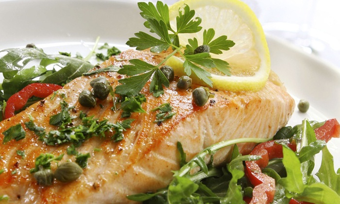 Blue Finn Grille - Haverhill: $20 for $40 Worth of Seafood at Blue Finn Grille