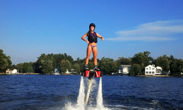 We Deliver Water Sports - Tampa Bay Area: $149 for a Flyboard Lesson with Equipment Rental and Delivery from We Deliver Watersports ($299 Value)