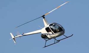 Hélitravaux Dijon: Vol touristique de 15 ou 25 minutes en hélicoptère dès 69 € avec Hélitravaux Dijon