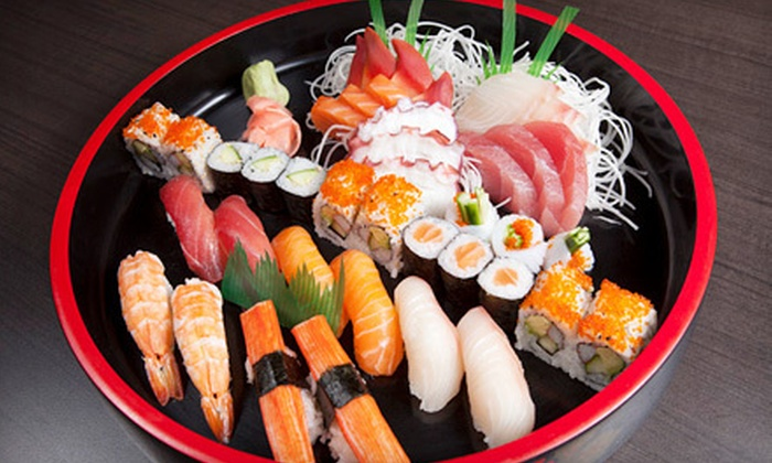 Asia Feast Sushi Bar - Vaughan: $20 for $40 Worth of Sushi and Asian Food and Drinks for Dinner at Asia Feast Sushi Bar