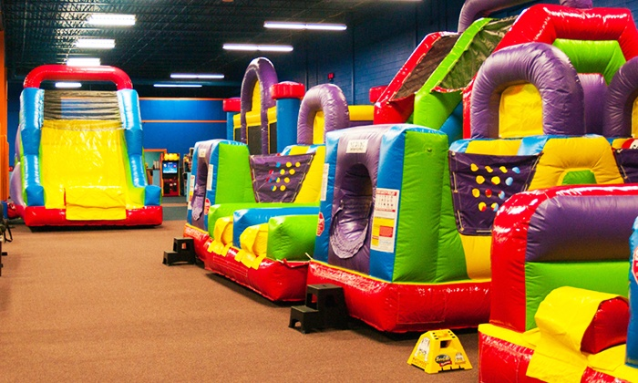 Bounce It Up - Livonia: Three or Five 2-Hour Open-Play Passes at Bounce It Up (49% Off)