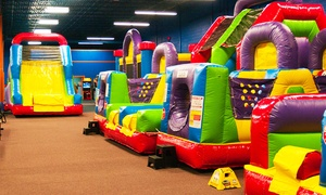 Bounce It Up: Three or Five 2-Hour Open-Play Passes at Bounce It Up (49% Off)