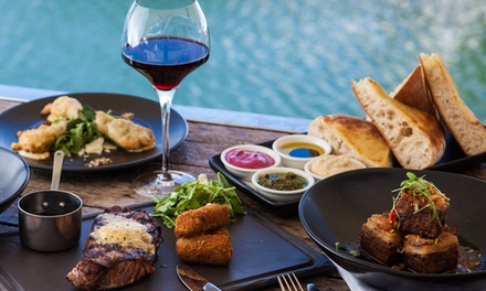 Set Meal with Drinks: Two $79 or Four Courses $99 for Two People at Glass Dining & Lounge Bar Up to $190.50 Value