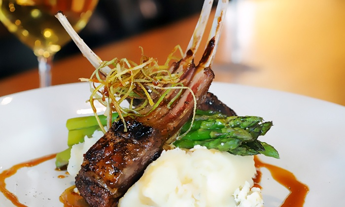 North End Café - Multiple Locations: Contemporary Cuisine with Tapas, Entrees, and Dessert for Two or Four at North End Café (Up to 52% Off)