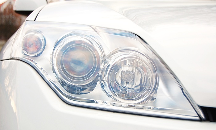 Signature Chrome - Morris Park: $50 for Headlight Restoration with Sanding, Compound Wax, and Polish at Signature Chrome ($110 Value)