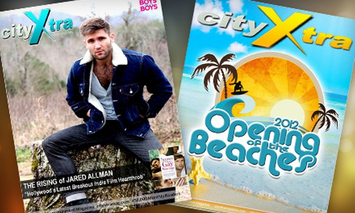 """cityXtra Magazine: 12- or 24-Month Subscription to """"cityXtra Magazine"""" (Up to 58% Off)"""