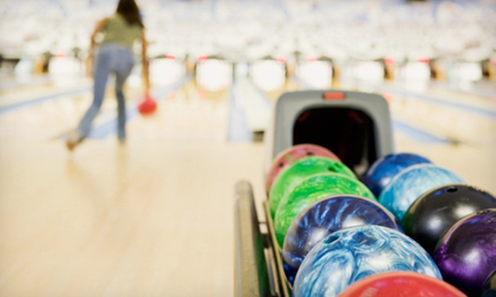 Liberty Lanes Bowling Center - Liberty Lanes: Two Hours of Bowling for Four or Eight with Drinks at Liberty Lanes Bowling Center (Up to 65% Off)