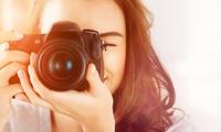 """2 Std. Foto-Workshop """"Einführung in die Digitalfotografie"""" für 1 oder 2 Pers. im Foto Design Studio Klam (72% sparen*)"""