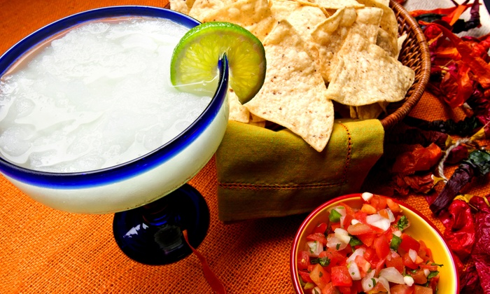 Los Charros Mexican Restaurant - Ankeny: Two or Four House Margaritas with Guacamole at Los Charros Mexican Restaurant (Up to 48% Off)