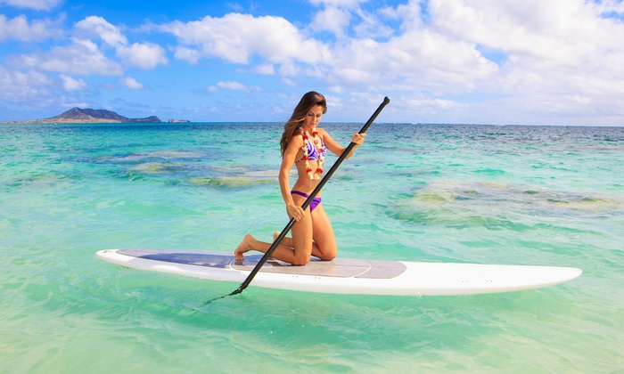 Captain Kirk's - San Pedro: Standup-Paddleboarding Lesson for One or Two with Equipment from Captain Kirk's (Up to 50% Off)