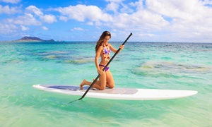Captain Kirk's: Standup-Paddleboarding Lesson for One or Two with Equipment from Captain Kirk's (Up to 50% Off)