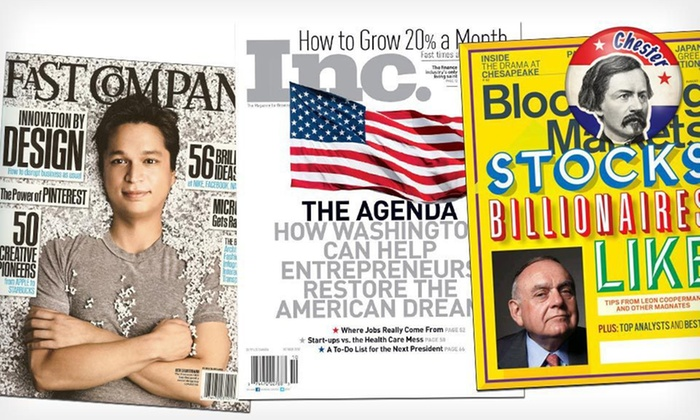 Politics and Business Magazines: Politics or Business Magazine Subscription (Up to 58% Off). Eight Options Available. Free Shipping and Returns.