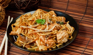 Nanking: Dinner for Two or Four or $20 for $40 Worth of Chinese, Indian or Thai Food at Nanking