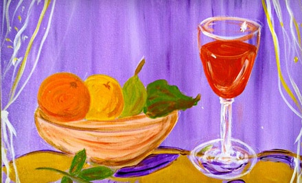 Two-Hour BYOB Painting Class for One, Including One Drink, Light Snacks and Materials (a $40 value) - Painting on the Vine in Seattle