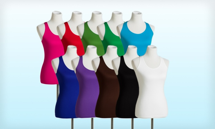 Grip Intimates 10-Pack of Women's Seamless Tanks: $32.99 for a 10-Pack of Grip Intimates Women's Seamless Tanks ($129.99 List Price). Free Shipping and Returns.