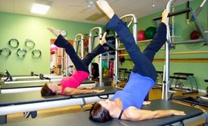 Pilates Plus: One or Two Private Pilates Classes with Group Classes at Pilates Plus (Up to 59% Off)