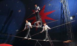 Santus Circus: Santus Circus, 12 - 16 October in Collier Row (Up to 50% Off)