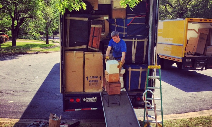 Royal Moving & Storage LLC - Brookhaven Industrial Park: Three Hours of Moving Services with Two Movers and Supplies from Royal Moving & Storage (50% Off)