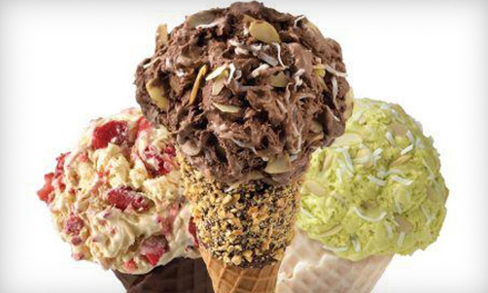 Marble Slab Creamery - Multiple Locations: Punch Card for Five Ice-Cream Cones at Marble Slab Creamery (52% Off)