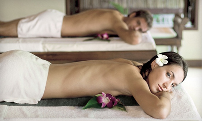 Relax & Restore Therapeutic Massage - Relax & Restore : Couples Massage with Movie and Meal or Face and Foot Treatment at Relax & Restore Therapeutic Massage (Up to 58% Off)