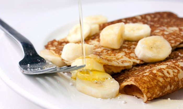 Aloha Crepes - Kaimuki: $17.50 for a Five-Punch Card for Dessert Crepes and Snowflake Desserts at Aloha Crepes ($35 Value)