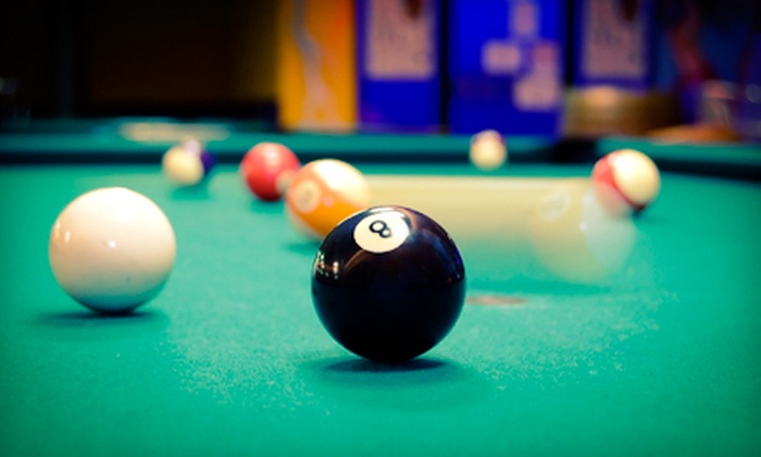 Pockets Pool & Pub - Tucson: Two Hours of Billiards and Two Drinks for Two or Four at Pockets Pool & Pub (Up to 63% Off)