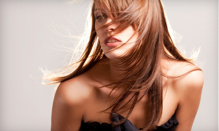 Cloutier Le Salon - Sherman Oaks: Haircut, Conditioning Treatment, and Blow-Dry with Style or Partial Highlights at Cloutier Le Salon (Up to 73% Off)