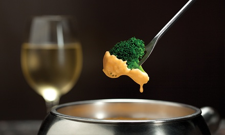 $40 for a Fondue Dinner for Two with Salads at The Melting Pot (Up to $60.45 Total Value)
