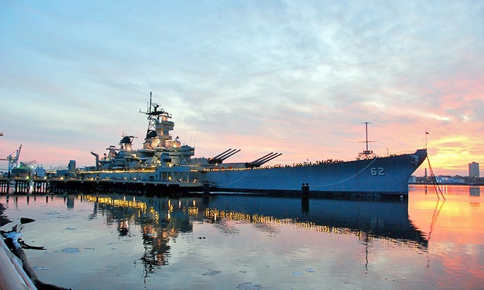 Battleship New Jersey - Delaware River: Battleship New Jersey Visit for Two or Four (49% Off)