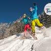 Escursione con ciaspole sulla neve