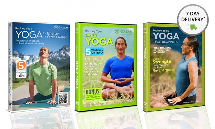 Rodney Yee Yoga DVD 3-Pack: Rodney Yee Yoga DVD 3-Pack. Free Shipping and Returns.