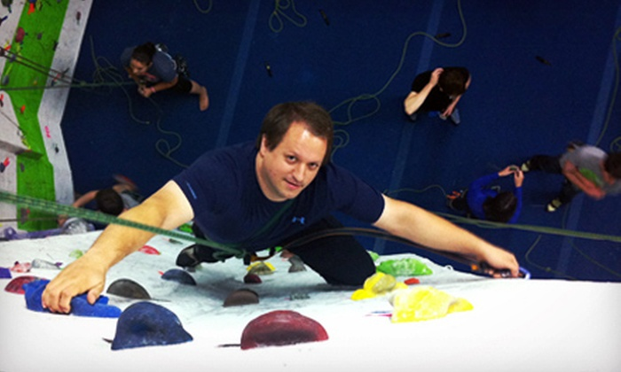 City Climb - New Haven: Rock Climbing for Two or Four at City Climb (Up to 64% Off)
